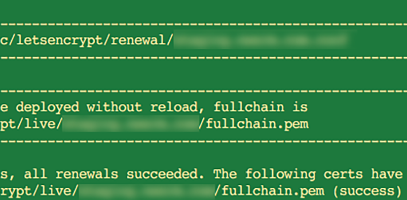 Renewing Let's Encypt certificates in DigitalOcean's Rails One-click app